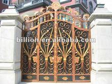 2012 china manufacturer hebei factory galvanized wrought metal pool gates