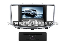 Hot Sell two din Car DVD Player With TV/AM/FM/Bluetooth/USB/SD CARD/GPS for NISSAN TEANA