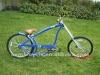 26 inch 2012 hot sale blue chopper bike