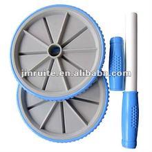 plastic fishing ab wheel roller