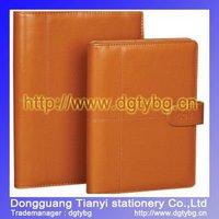 Senior loose notepad leather notebook school