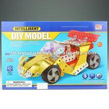 2012 New Kids Metal Building Block Car Models L09967