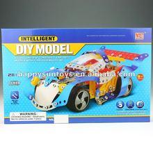 2012 New Kids Metal Building Block Car Models L09968