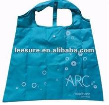 large capacity foldable polyester shopping bag