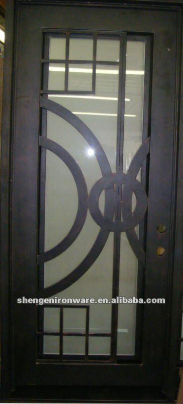 porte d entr 233 e en fer forg 233 moderne portes id du produit 543067717 alibaba