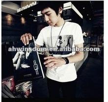 2012 fashion angel wings boy pure cotton children's T-shirt