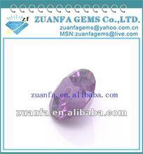 Purplish Red Round Cubic Zirconia Jewelry