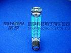 1-14L/min Acrylic flow meter for water treatment: ozone flowmeter, flow rate; air flowmeter;oxygen flowmeter