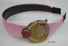 fabric flower baby headbands,sequin headband,fabric headbands