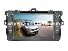 Hot sell Two Din Car DVD Player Special for TOYOTA Corolla 2007-2011