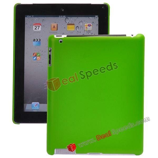 Plain Matte Hard Case for iPad 2(Green)