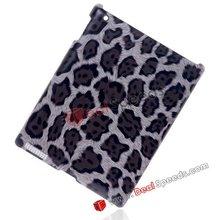 Leopard Printed Polished Hard Case for iPad2