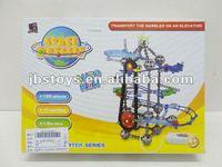 B/O block toys set with marble TI12030043