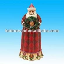 2012 hotsale resin christmas santa claus