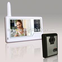 "2012 Newest 3.5"" Touch Screen Wireless Video Door Phone"