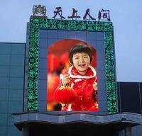 Alibaba 2012 new invention waterproof led advertising screen