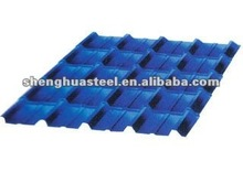 galvanized corrugated steel tile for roofing and wall