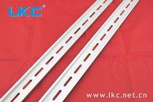 HC-707 DIN standard slotted low profile 35x7.5 steel din rail