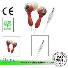2012 newest EAR1282 baseball bat shaped sports earphones
