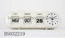 Calendar table clock