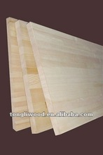 Paulownia finger jointed board---vicky