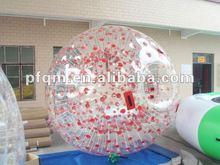 big plastic balls/clear plastic hollow balls