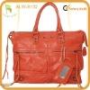 2012 NEW fashion quality leather Satchel Tassel handbag Motocycle bag with mirror