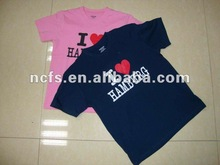 Hot!!! 2012 !!! New Fashion 100%combed Cotton promotion kids jersey Shirt