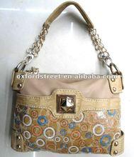2012 fashion rivet and sequin handbag bag