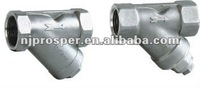 y-strainer pipe fitting valves