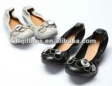 Mais novo projeto sapatos dobráveis plana