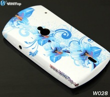 For Sony Ericsson Xperia Neo MT15i Flower TPU Case Cover