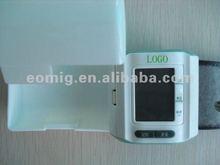LCD display digital wrist blood pressure monitor
