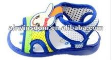 2012 fashion lovely cartoon children's sandal