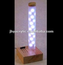 acrylic led display acrylic led shelf acrylic led