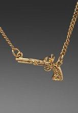 summer fashion necklace Couture Gun/shotguns charm necklace