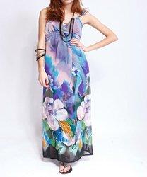 Maxi Dress Sale on Long Sleeve Maxi Dress Hot Sale Dress Cotton Long Printed Beach Dress