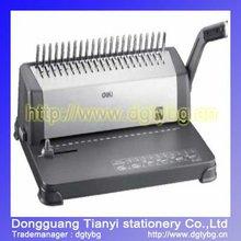 Binding machine comb binding machine