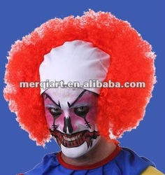 Hot Clown Wig-Halloween Fun Giveaways Party Favor