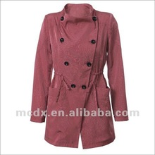 name brand style fashionable cheap jacket/ overcoat for woman