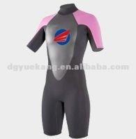 Description: 3/2mm ladies short spring custom colored wetsuit