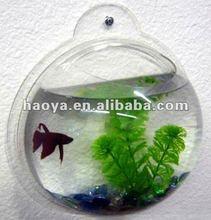 New!!!Wall Mounted Clear Semicircle Acrylic Fish Tank/Aquarium