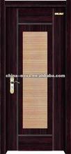two colors office wooden door design