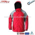 Men's 3 in 1 nylon jacket with hood