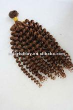 Natural Russian Hair In Bulk /remy human hair extension