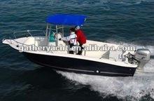 6m Cabin cruiser boat , Fiberglass fishing boat