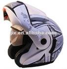 2012 Flip-up Helmet with double visor JX-A111-1