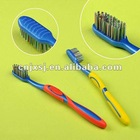 Adult Toothbrush / Colorful bristles/ Mixed Bristles