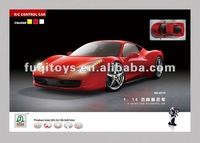 New products 1/14 high simulation F458 series model rc car