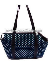 Blue dot Cute Pet carrier Pet products